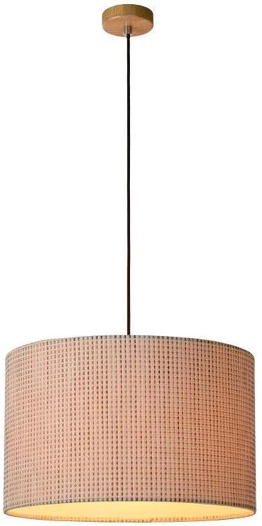Lucide 30494/48/72 - Lampa suspendata CONOS 1xE27/60W/230V bej