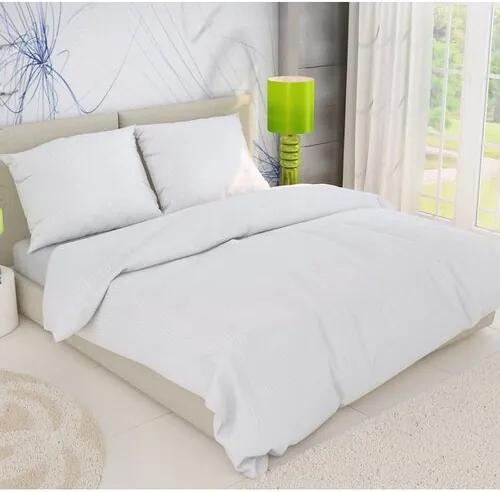 Lenjerie pat creponată, 1 pers.,  alb, 140 x 220 cm, 70 x 90 cm, 140 x 220 cm, 70 x 90 cm
