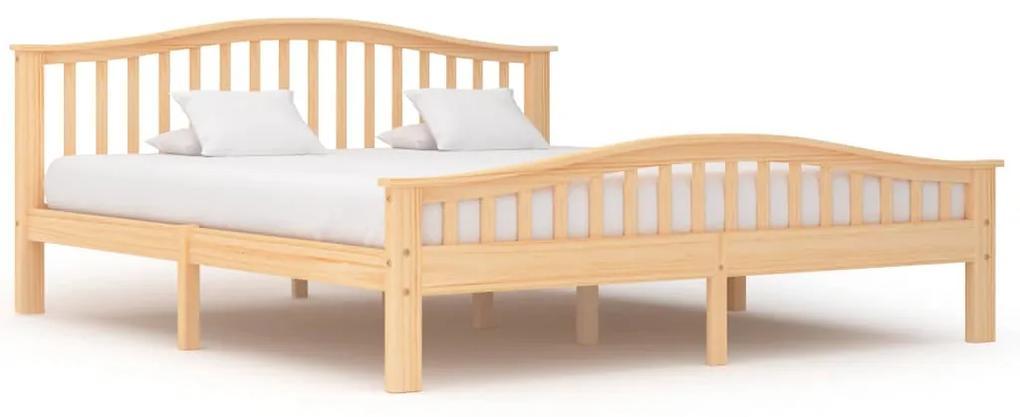 283315 vidaXL Cadru de pat, 180 x 200 cm, lemn masiv de pin