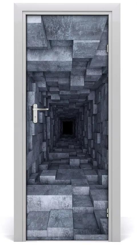 Autocolante pentru usi Peretele tunelului
