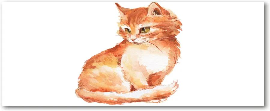 Tablou acrilic Red cat