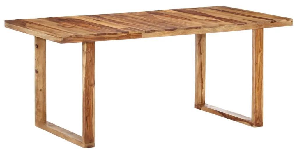 287354 vidaXL Masă de bucătărie, 180x90x76 cm, lemn masiv de sheesham