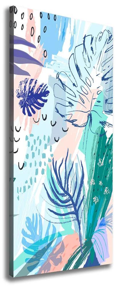 Tablou canvas Frunze tropicale