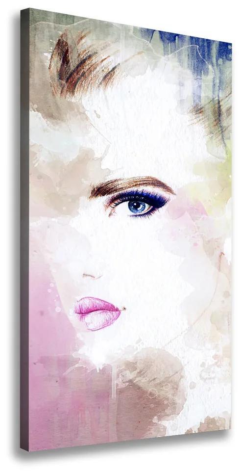 Tablouri tipărite pe pânză Abstracție femeie