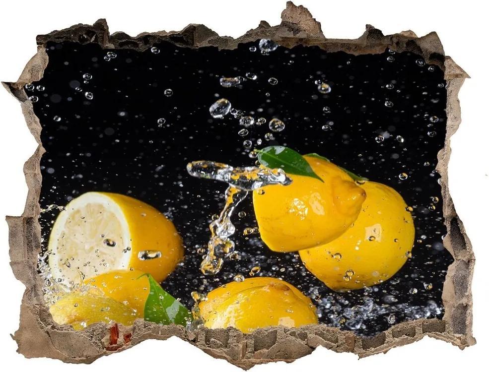 Autocolant autoadeziv gaură Lamaie si apa