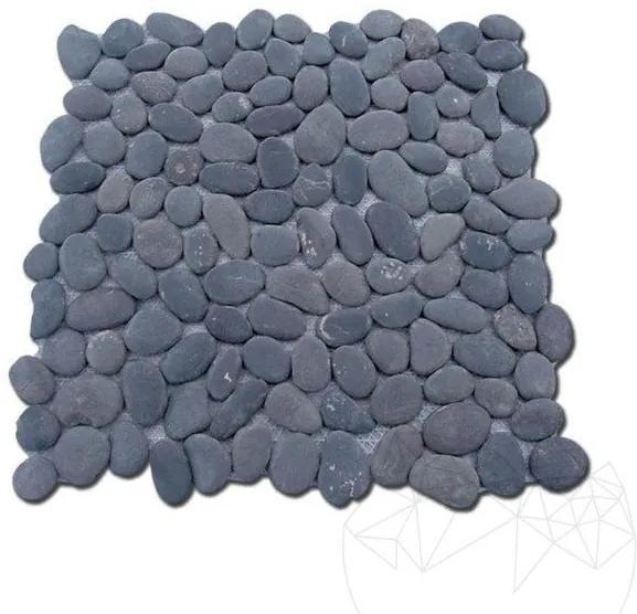 Mozaic Pebbles Black Mat Produs Comanda Speciala