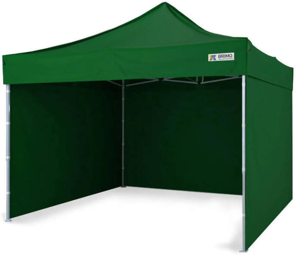 Cort pavilion pliabil 3x3m - Verde