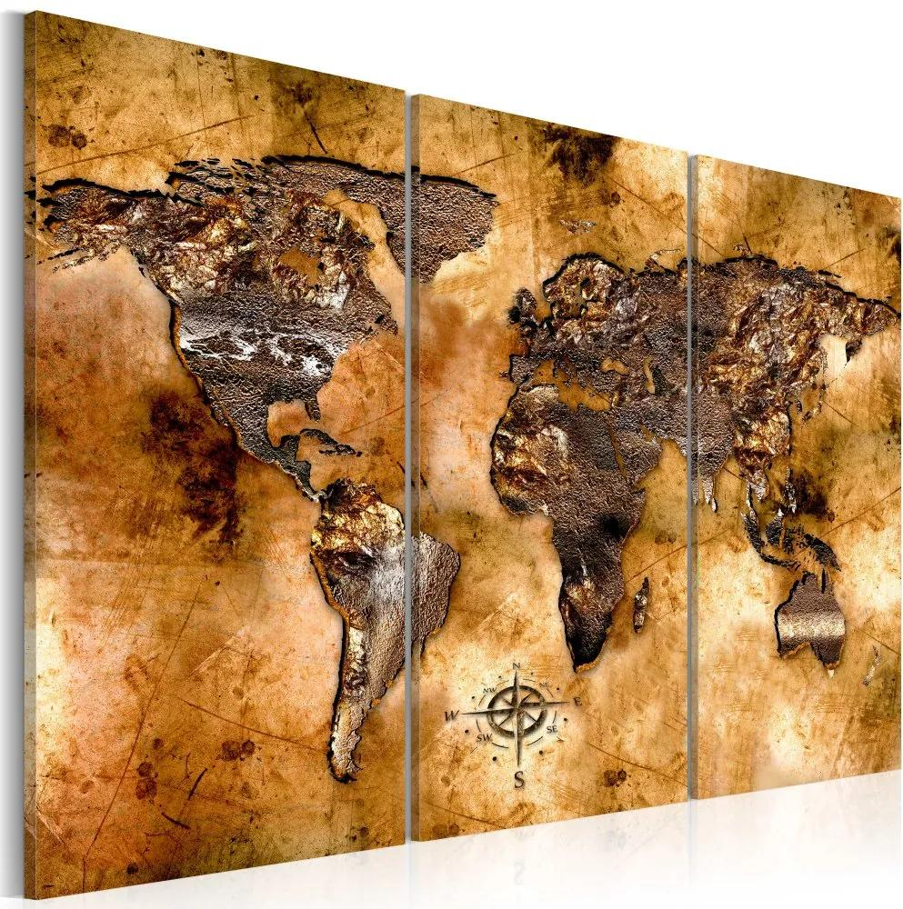 Tablou - World in opalescent shades 60x40 cm