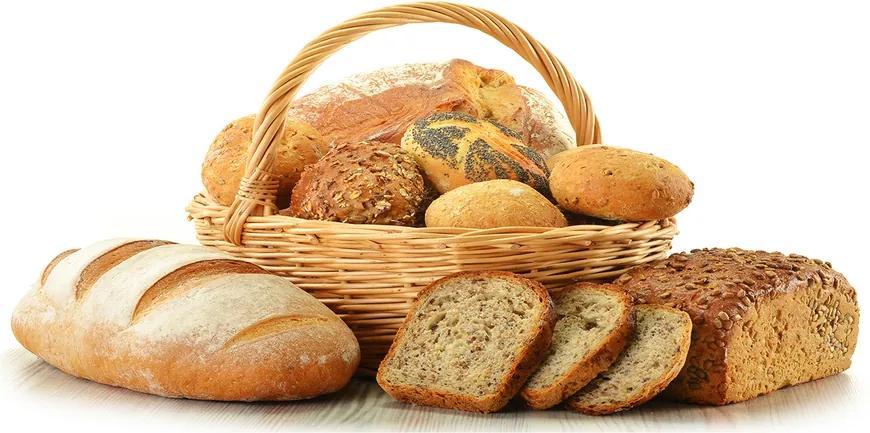 Imagine de sticlă Pâine într-un coș