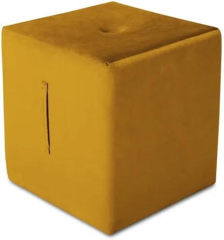 Puf Mazzini Sofas Margaret, 40 x 45 cm, portocaliu