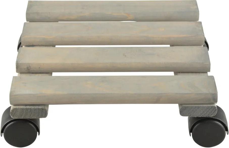 Suport din lemn de pin pentru ghiveci Esschert Design, 24 cm
