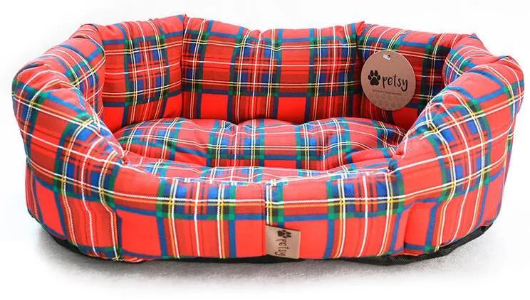 Culcuş pentru câine SCOTTY mărime XL - 90 x 70 cm