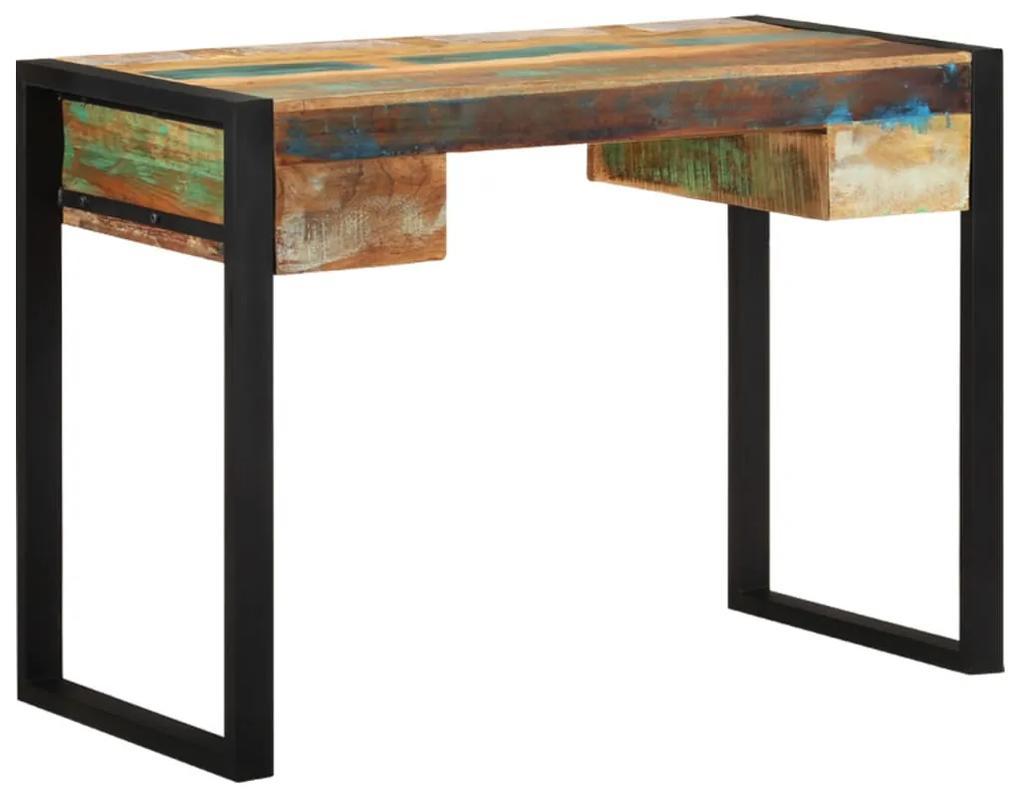 243276 vidaXL Birou din lemn masiv reciclat