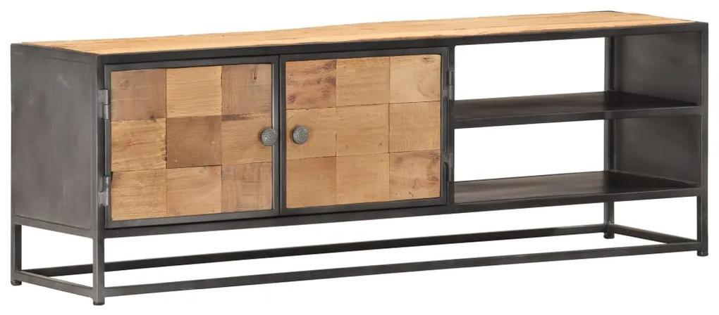 286526 vidaXL Comodă TV, 120 x 30 x 40 cm, lemn masiv reciclat