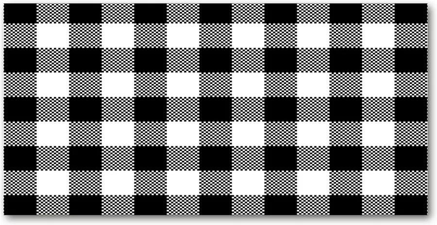 Tablou acrilic Zăbrele alb-negru
