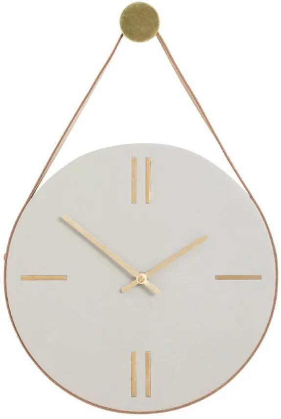 Ceas din Beton Gri - Beton Gri Diametru(30 cm) x Inaltime( 3 cm)