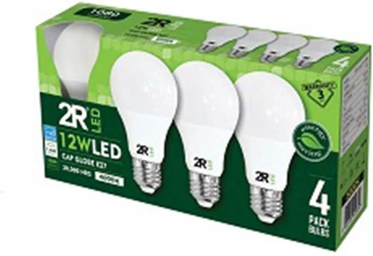 4 X BEC LED 12W, E27, LUMINA NEUTRA, 4000 K
