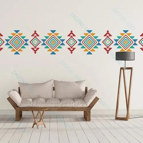 Sticker pentru perete - Motive traditionale 200x40 cm