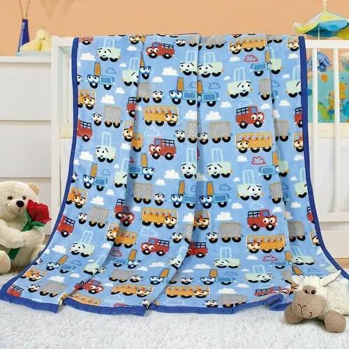 Pătura pentru copii Ella mașinele, 100 x 155 cm