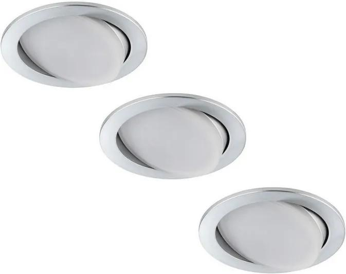 Paulmann 92673 - SET 3x LED Lampă încastrată PREMIUM LINE 3xLED/7W/230V/350m