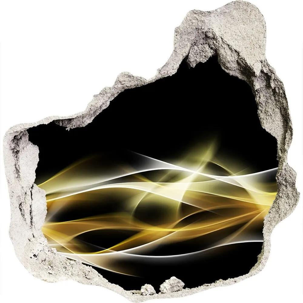 Fototapet un zid spart cu priveliște Abstracție lumina