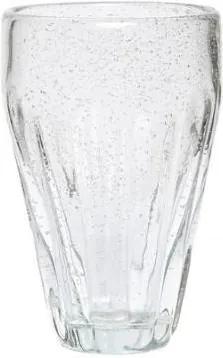 Pahar de Sticla Transparent - Sticla Gri inaltime(14cm) x diametru(6cm)