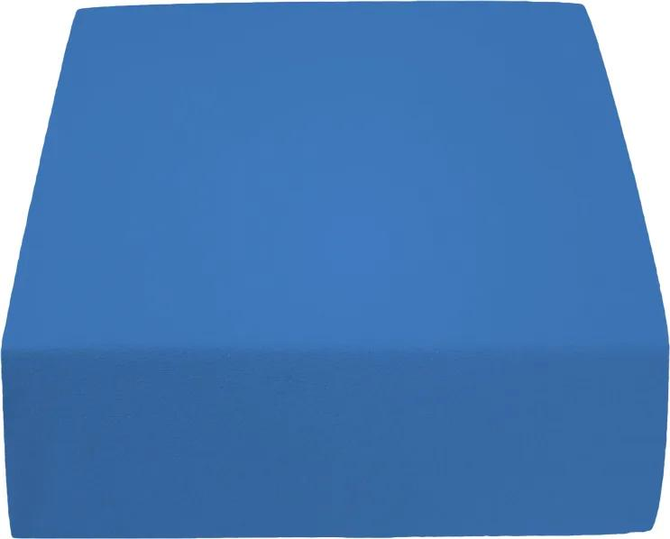 Cearșaf Jersey 180 x 200 cm albastru închis Gramaj (densitatea fibrelor): Standard (145 g/m2)