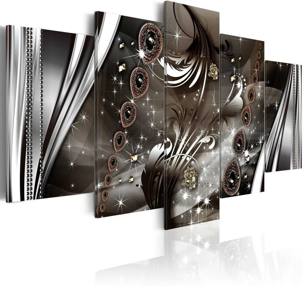 Tablou Bimago - Improvisation with jewelry 100x50 cm
