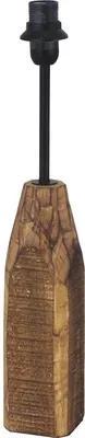 Picior veioza Vintage E14 max. 1x40W, 39,5 cm, lemn natur