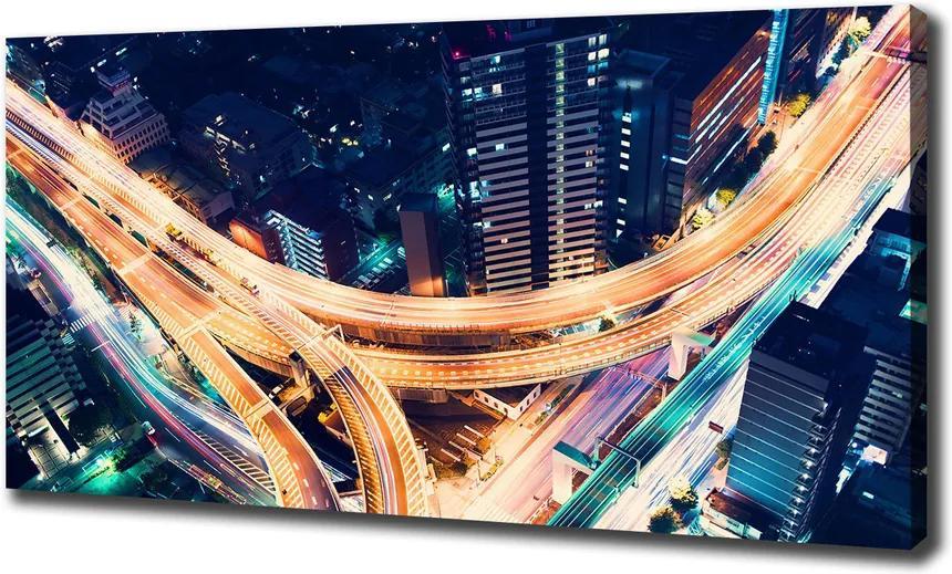 Imprimare tablou canvas Autostradă în tokyo