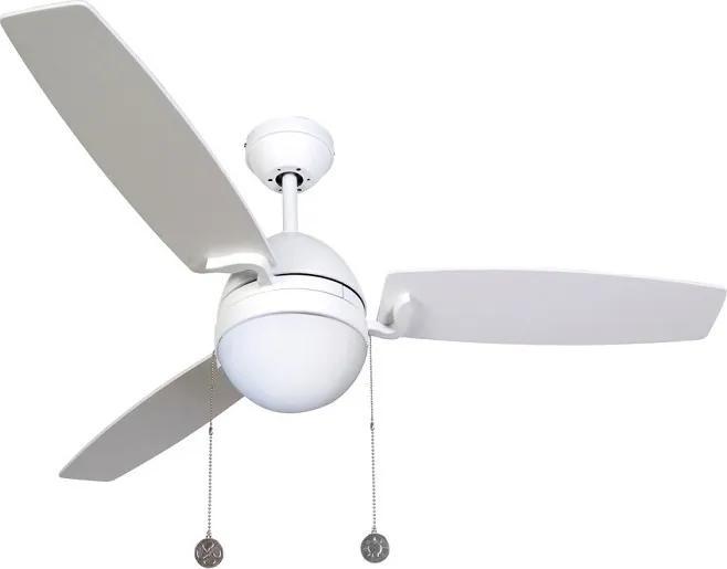 Lucci Air 512104 - Ventilator de tavan BOREAS 1xE27/20W/230V alb