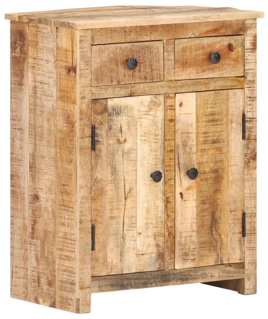 320189 vidaXL Servantă, 59 x 35 x 75 cm, lemn de mango nefinisat