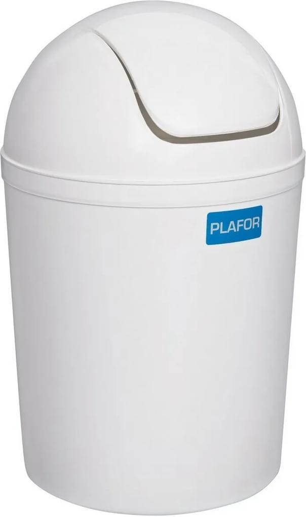 Coș de gunoi Aldo Swing 15 l, alb