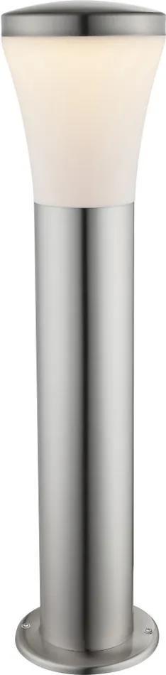 Globo 34571 Stalpi și lampadare de exterior ALIDO oțel inoxidabil 1 x max. 10,5W 610lm 3000K IP44 A