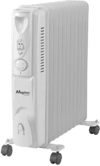 Calorifer electric Magitec 11 Elementi, 2500 W, Alb