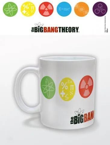 Cană - The Big Bang Theory (Symbols)