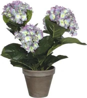 Floare artificiala, hortensie, violet