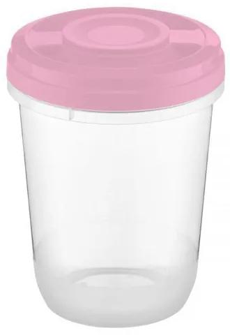 Recipient pt alimente 1l pink Smart