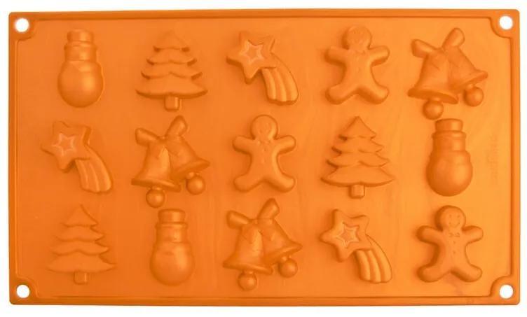 Formă din silicon pentru ciocolată CHRISTMAS