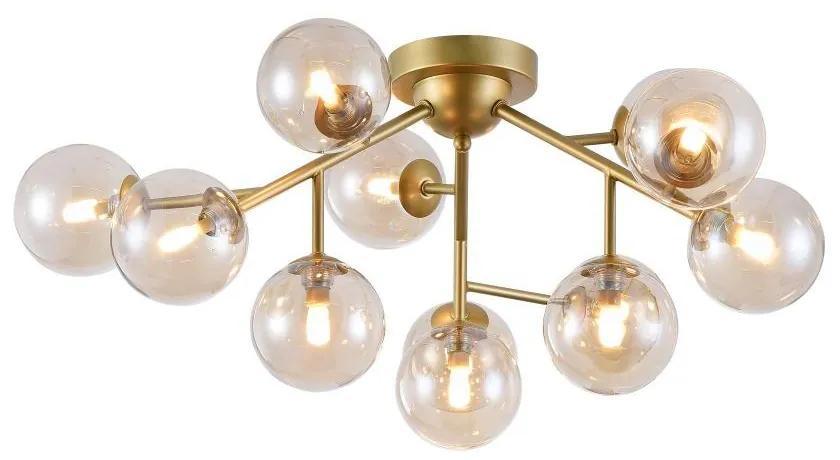 Corp de iluminat suspendat auriu 12 becuri Ceiling Lamp Dallas