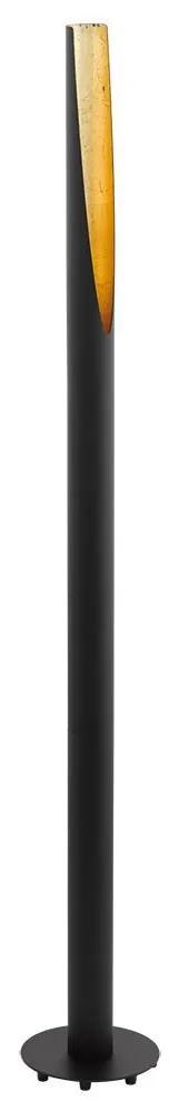 Eglo 97584 - Lampadar LED BARBOTTO 1xGU10/5W/230V negru