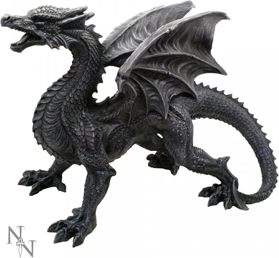 Statueta Dragon de paza 49 cm