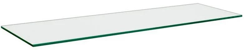 Polita din sticla, 80x15x0,8 cm