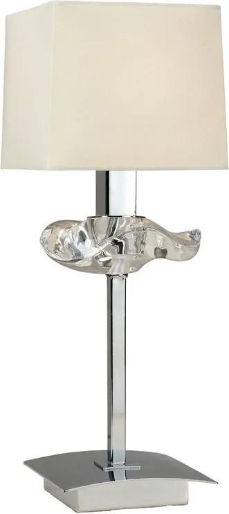 Mantra AKIRA 0939 Veioze, Lampi de masă crom 1xE14 max. 40 W 14x14x38 cm