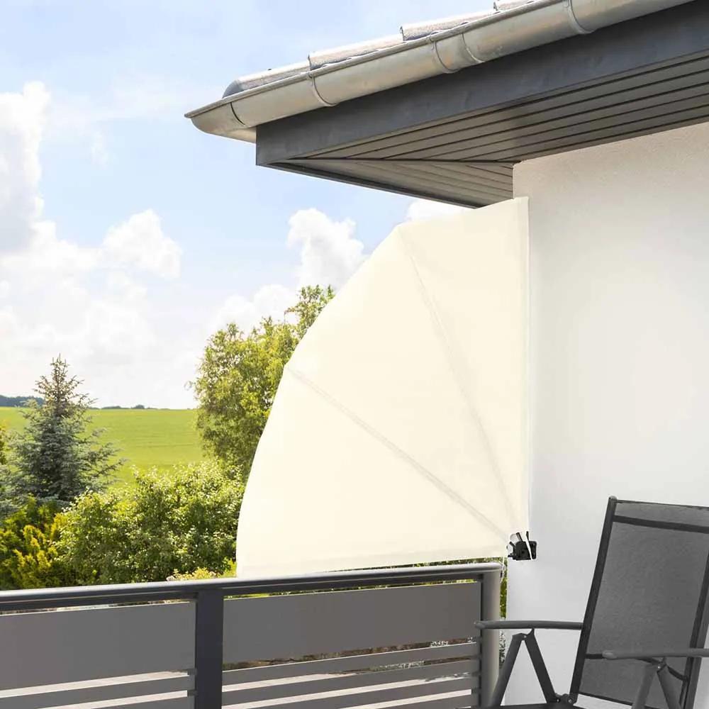 Umbrire pentru balcon tip evantai, 140 cm, 2 culori