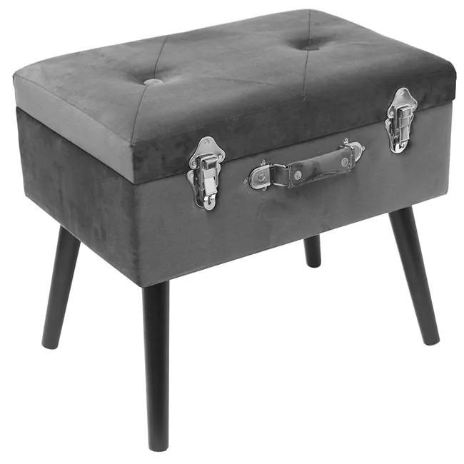 Bancheta CMP Suitcase S2  gri