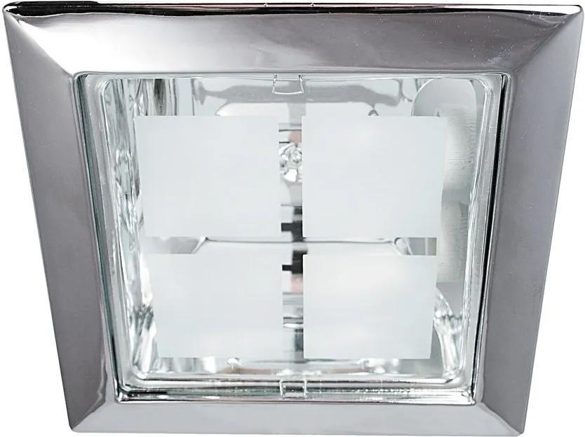 Rábalux 1150 Spoturi incastrate - tavan Spot office crom metal E27 2x MAX 26W IP20