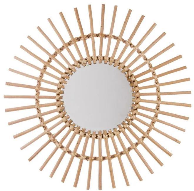 Decoratiune de perete cu oglinda JJA Sunra gold
