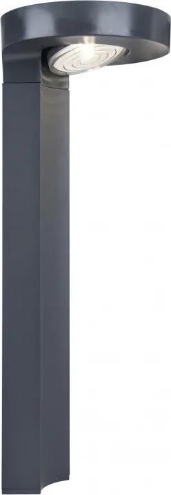 Lutec 6906703335 Stalpi și lampadare de exterior DISO gri plastic LG 5630 200lm 4000K IP44 A+