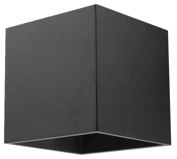 Aplică perete QUAD 1 1xG9/40W/230V negru